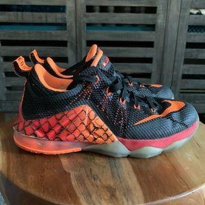 Nike LeBron James Boys Shoes sz 4y.